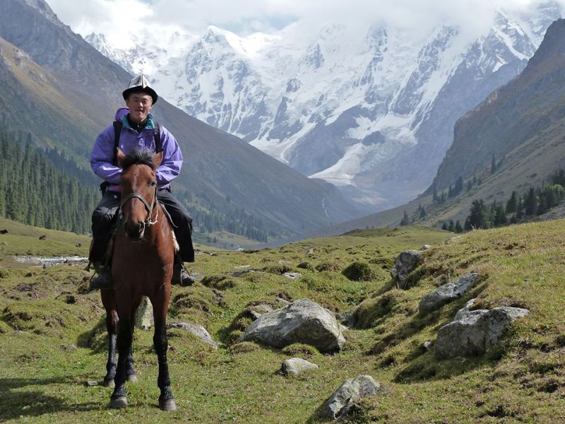 Horse riding in Kyrgyzstan 3 1